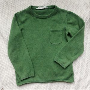 H&M green sweater